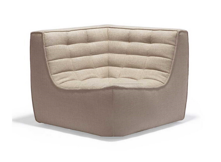 N701 Sectional Sofa - Beige