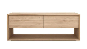 Nordic TV Cupboard - Oak