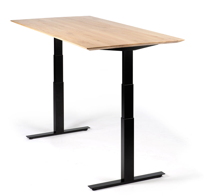 Bok Adjustable Desk - Black Frame