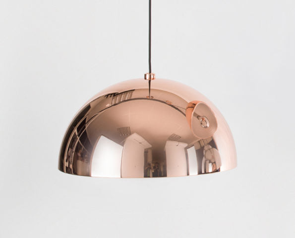 Dome Pendant - Copper