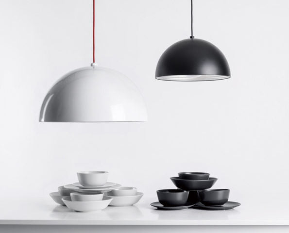 Dome Pendant - White