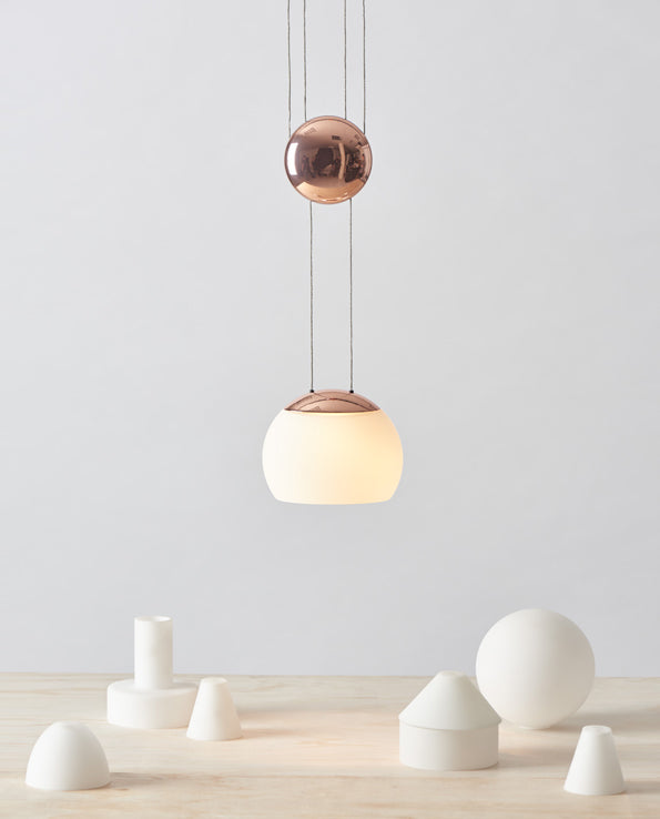 Jojo LED Pendant - Copper