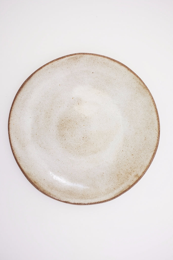 Dinner Plate - The Progress Collection (White Chamois)