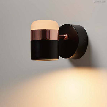 Ling Wall Sconce Black/Copper