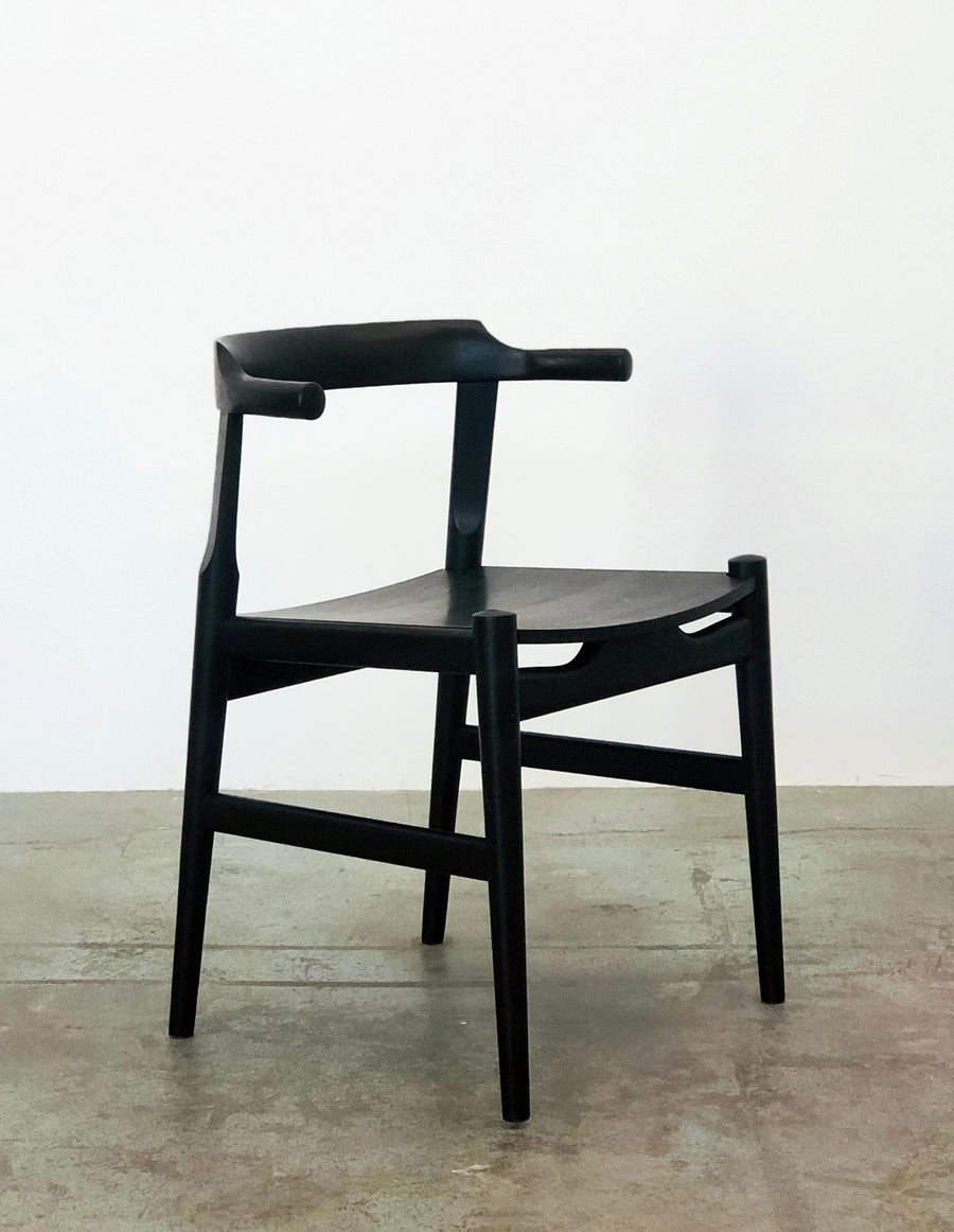 Frank Chair - Black Ash