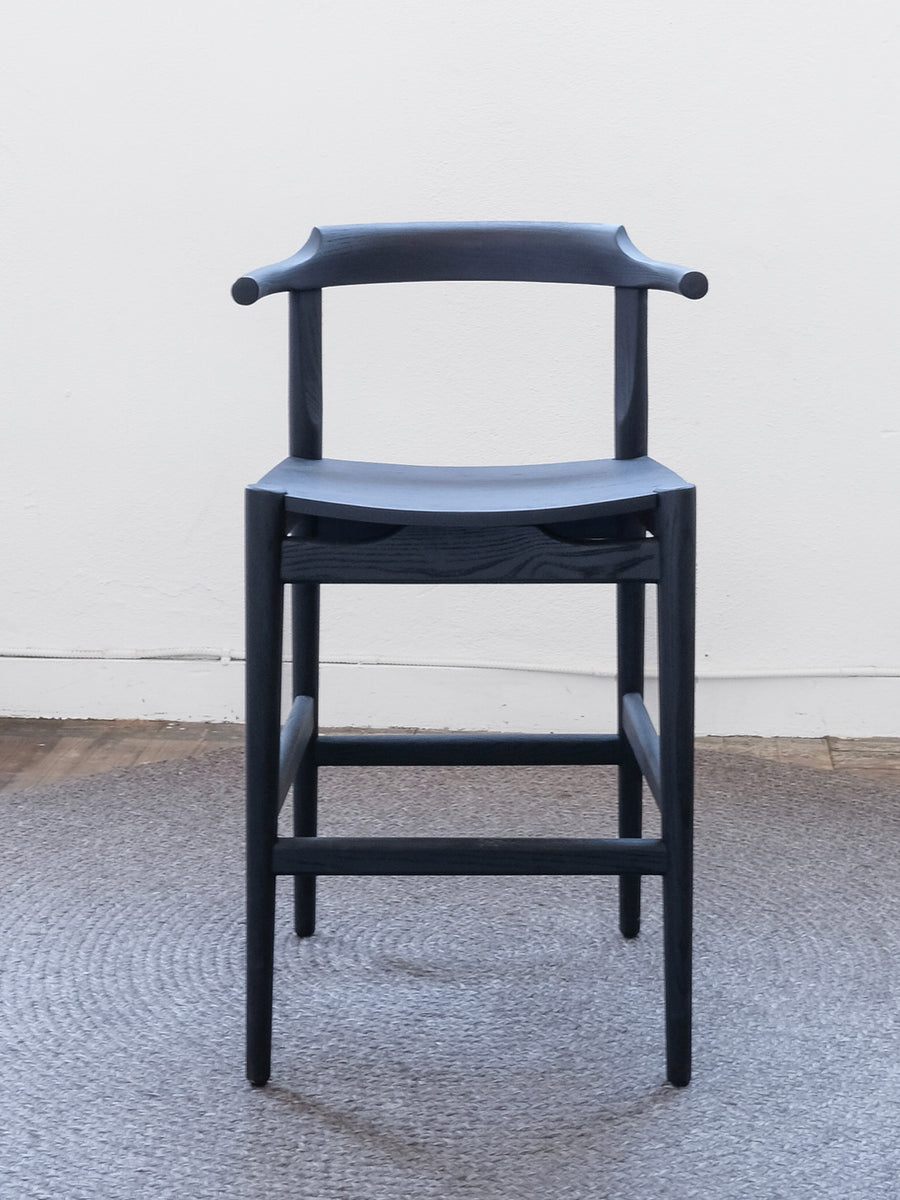 Frank Counter Stool - Black Ash