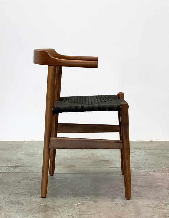 Thor Chair - Walnut with Black Seat