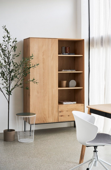 Whitebird Storage Cupboard - Oak
