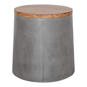 Ami Outdoor Storage Side Table/Stool