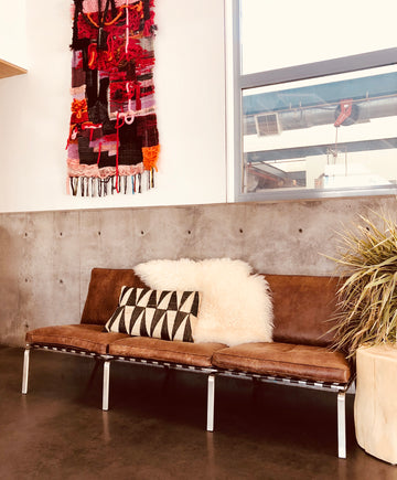 Bruno Sofa - Brown Leather
