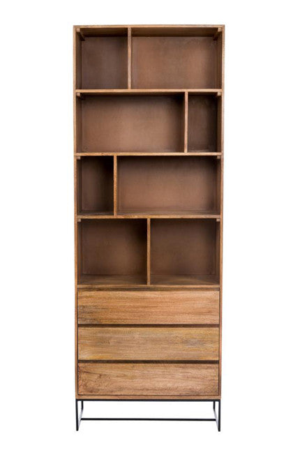 Colvin Shelf with Drawers