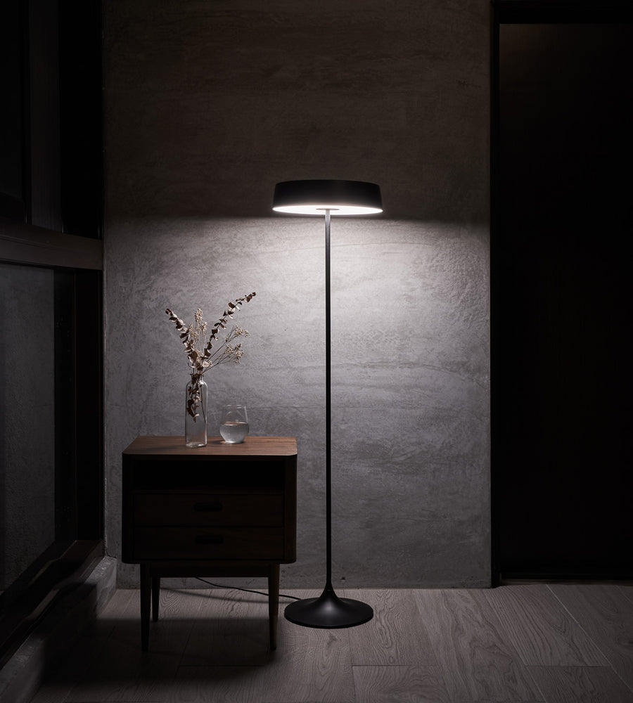 DJ LED Floor Lamp - Black
