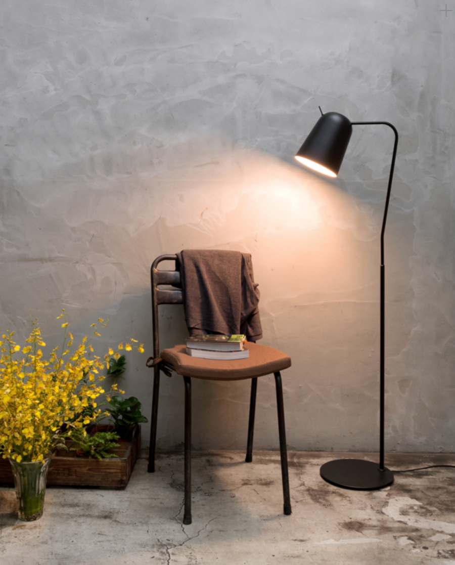 Dodo Floor Lamp - Black