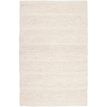 French Braid Rug - Ivory