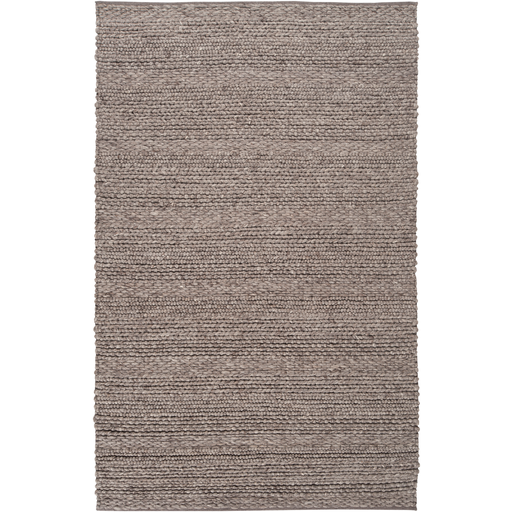 French Braid Rug - Charcoal
