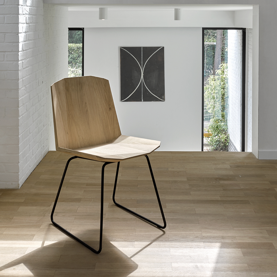 Facette Chair - Oak