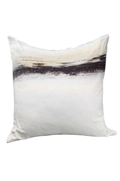 Fog Velvet Cushion with Feather Insert