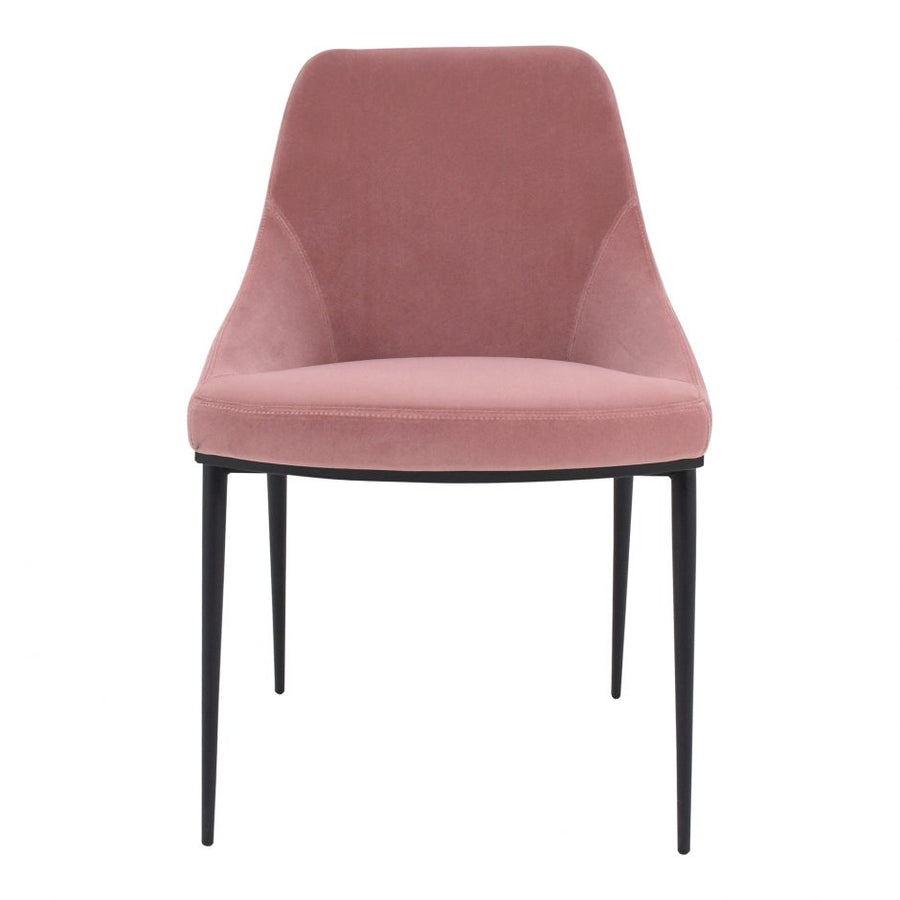 Panther Chair - Pink Velvet