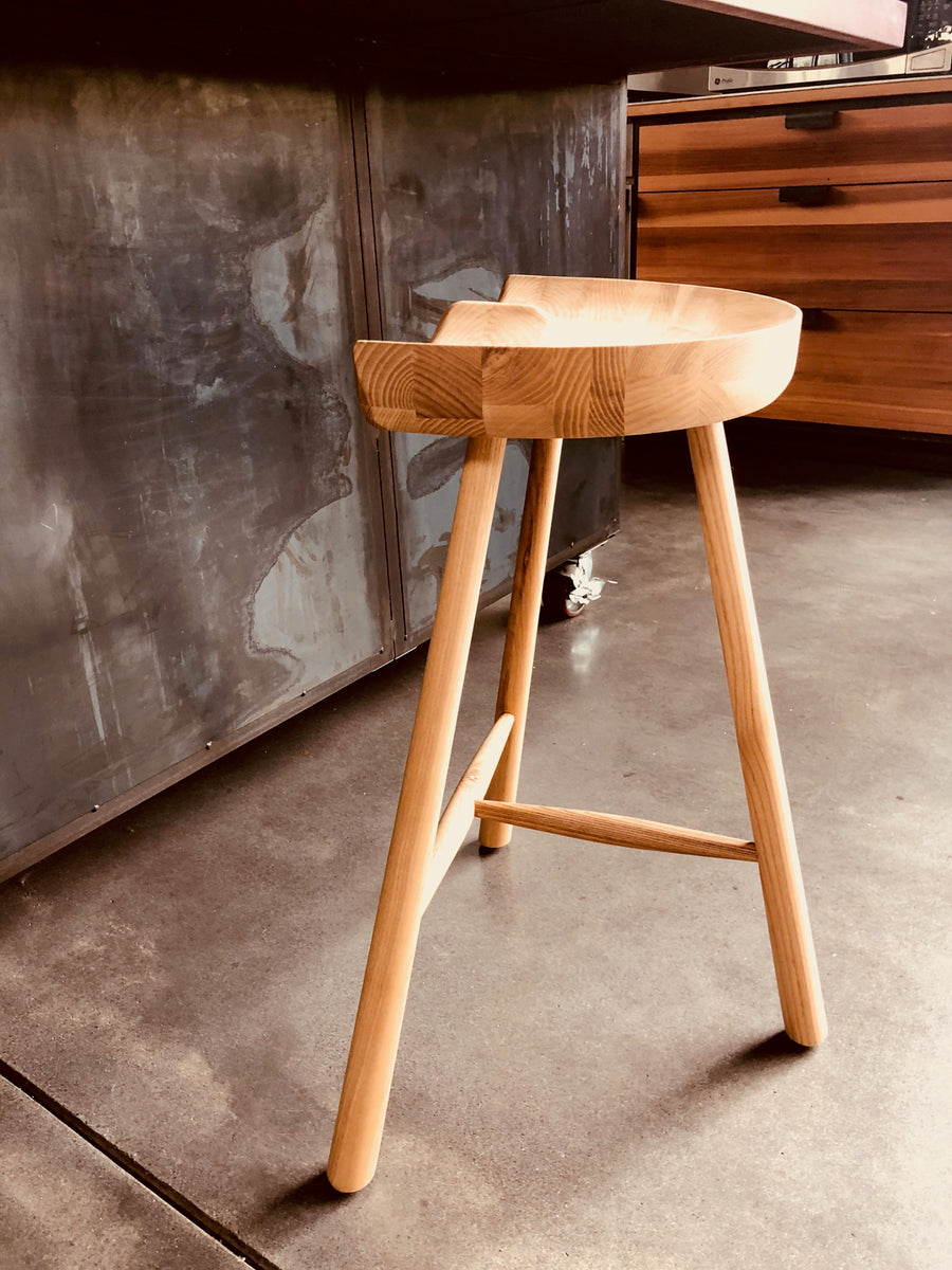 Pomerania Counter Stool - Ash
