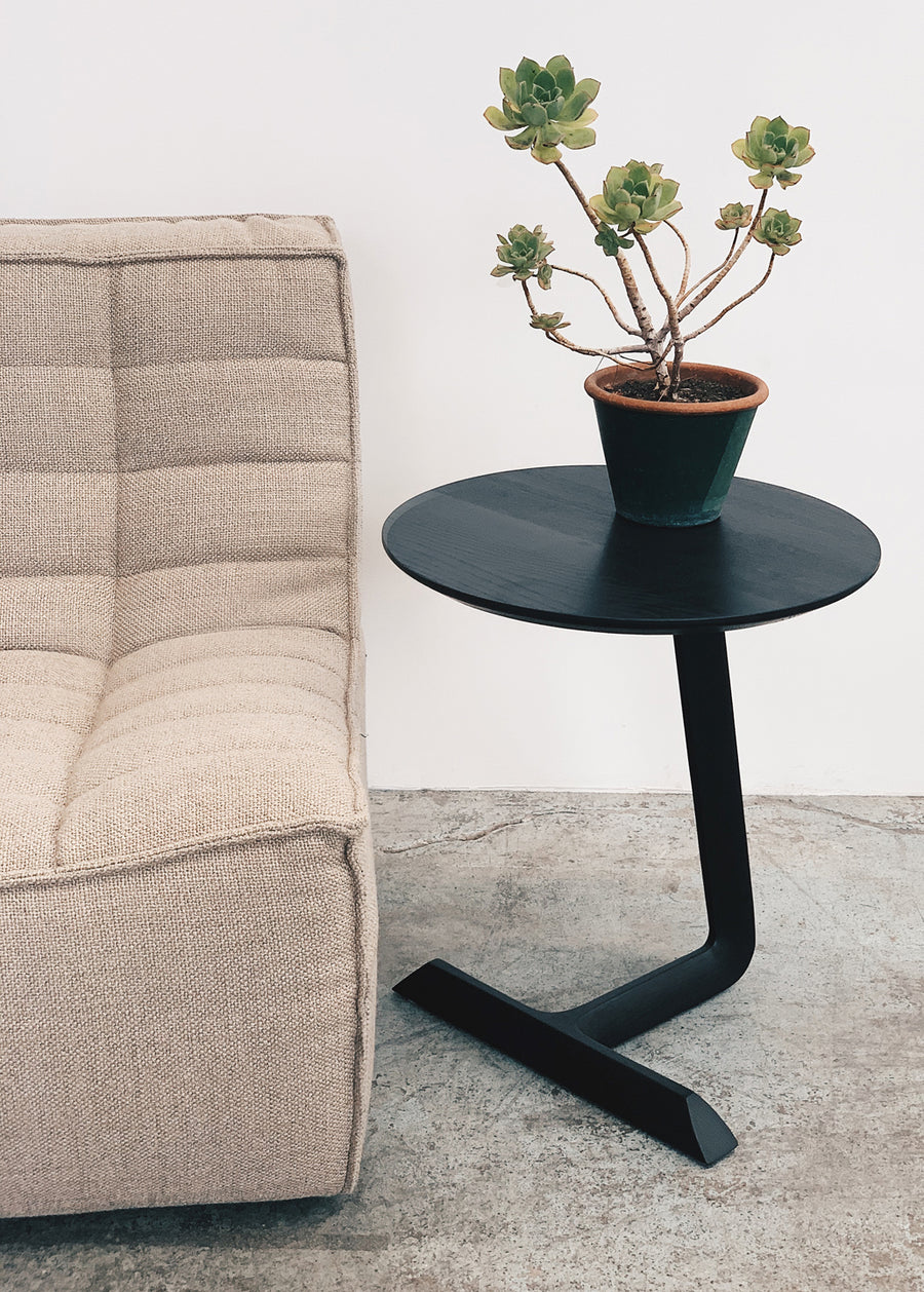 Teena Side Table - Black Ash