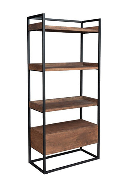 brown chestnut furniture open view rcwilley home rc bookcases arcadia jsp office store bookshelf willey