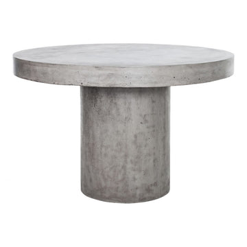 Amo Outdoor Dining Table with Grey Base