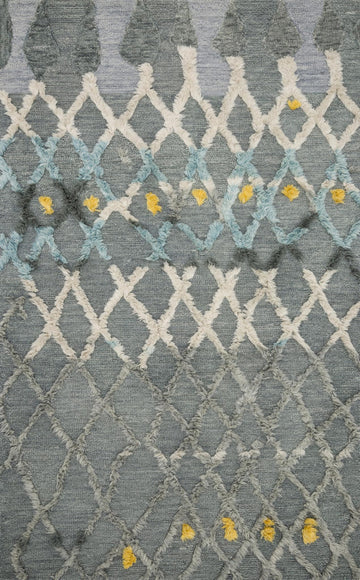 Symbology Rug - Grey / Multi