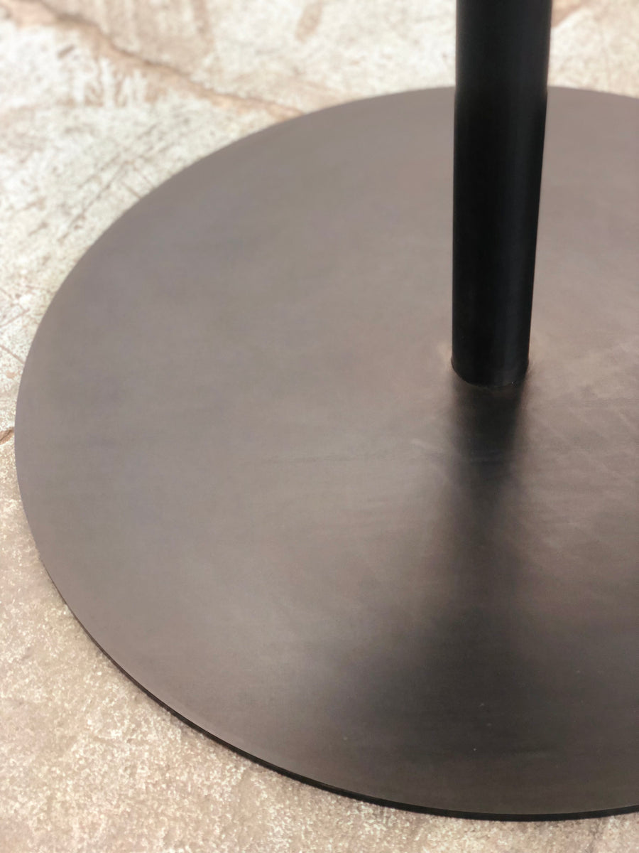 Disco Round Dining Table - Black Walnut