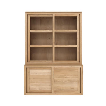 Pure Storage Cupboard - Oak