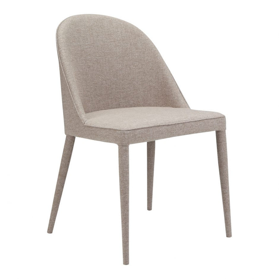 Burton Dining Chair - Light Grey