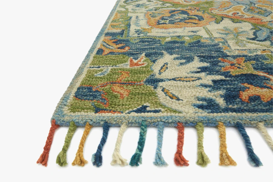 Zharah Rug - Blue / Multi
