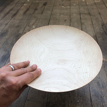 Shallow Bowl White Oak XL by Blackcreek Mercantile & Trading Co.
