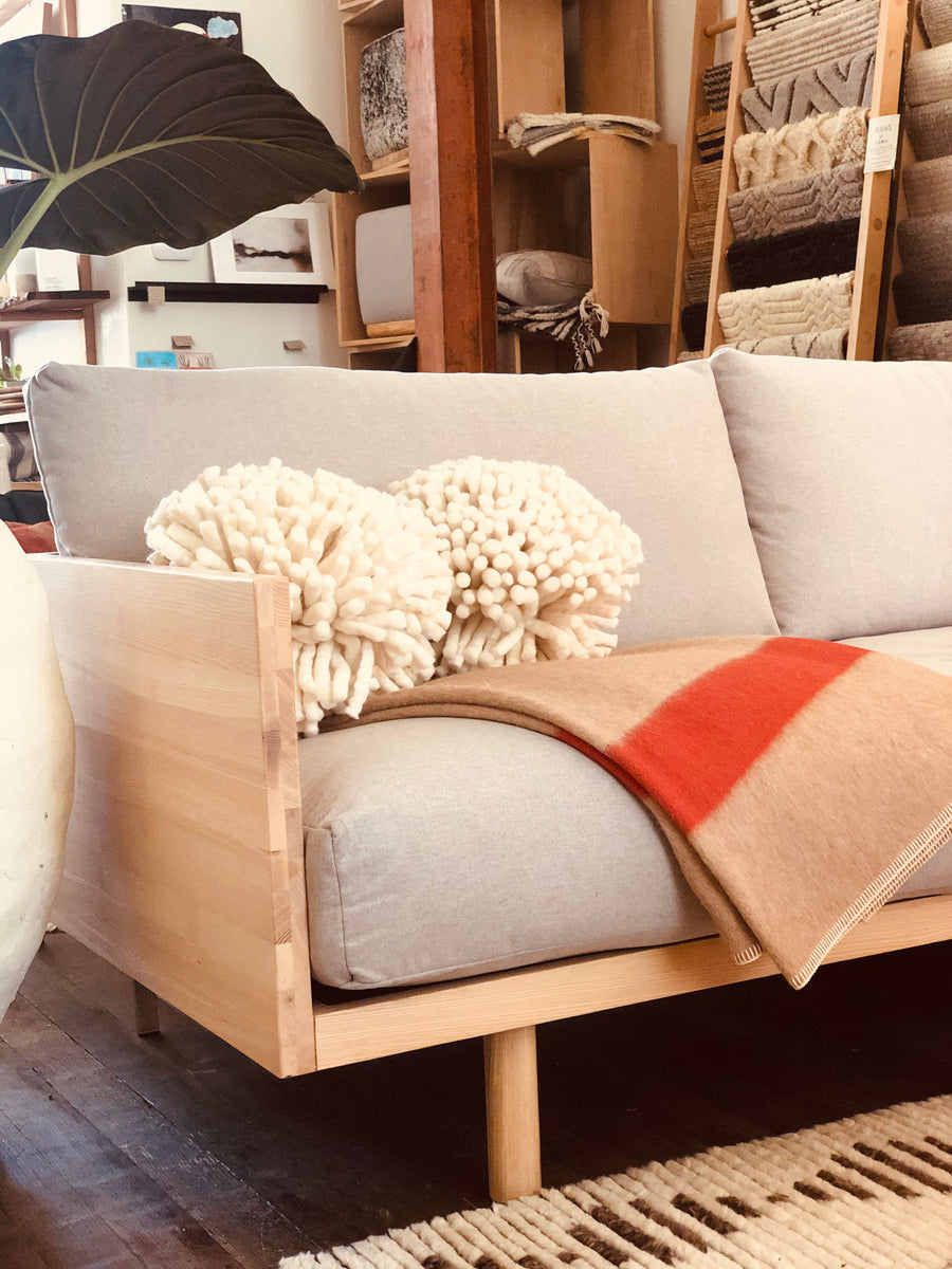 Woody Sofa / Twin Bed - Light Heather