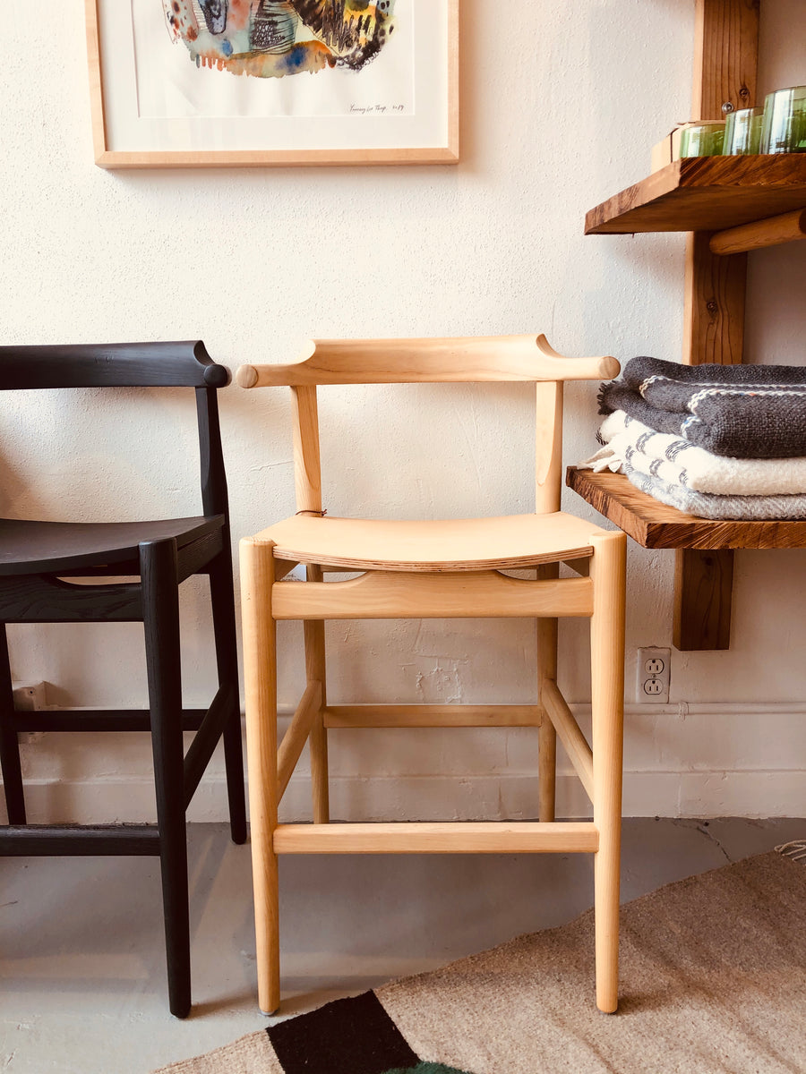 Frank Counter Stool - White Ash
