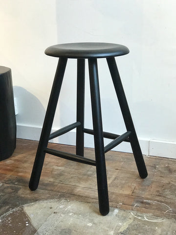 Paula Counter Stool - Black Ash