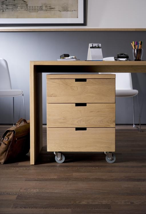 Office Billy Box - Oak