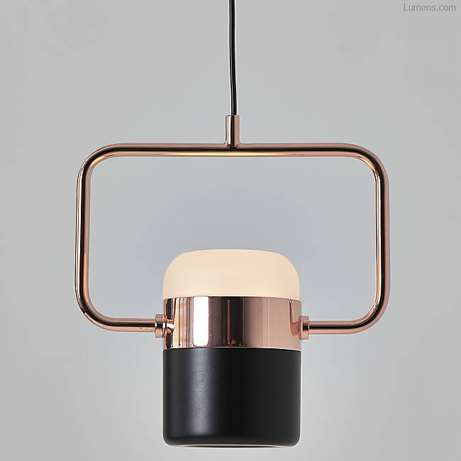 Ling Pendant Black/Copper