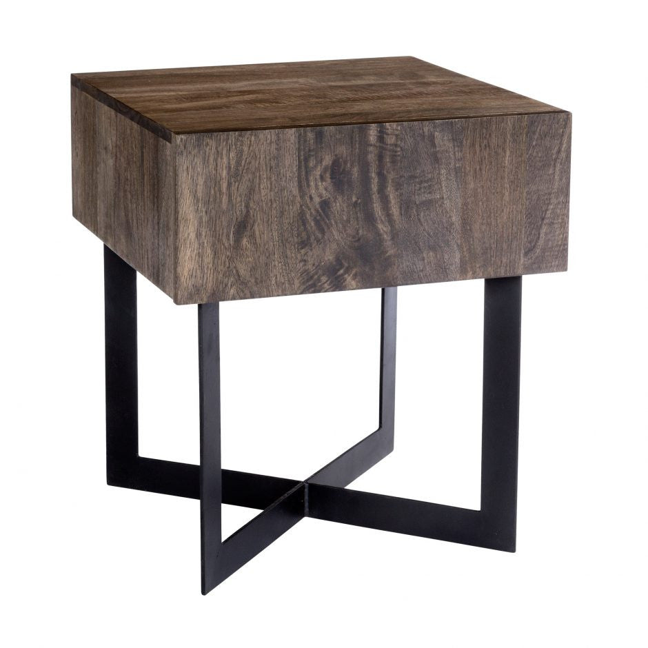 Cheval Side Table