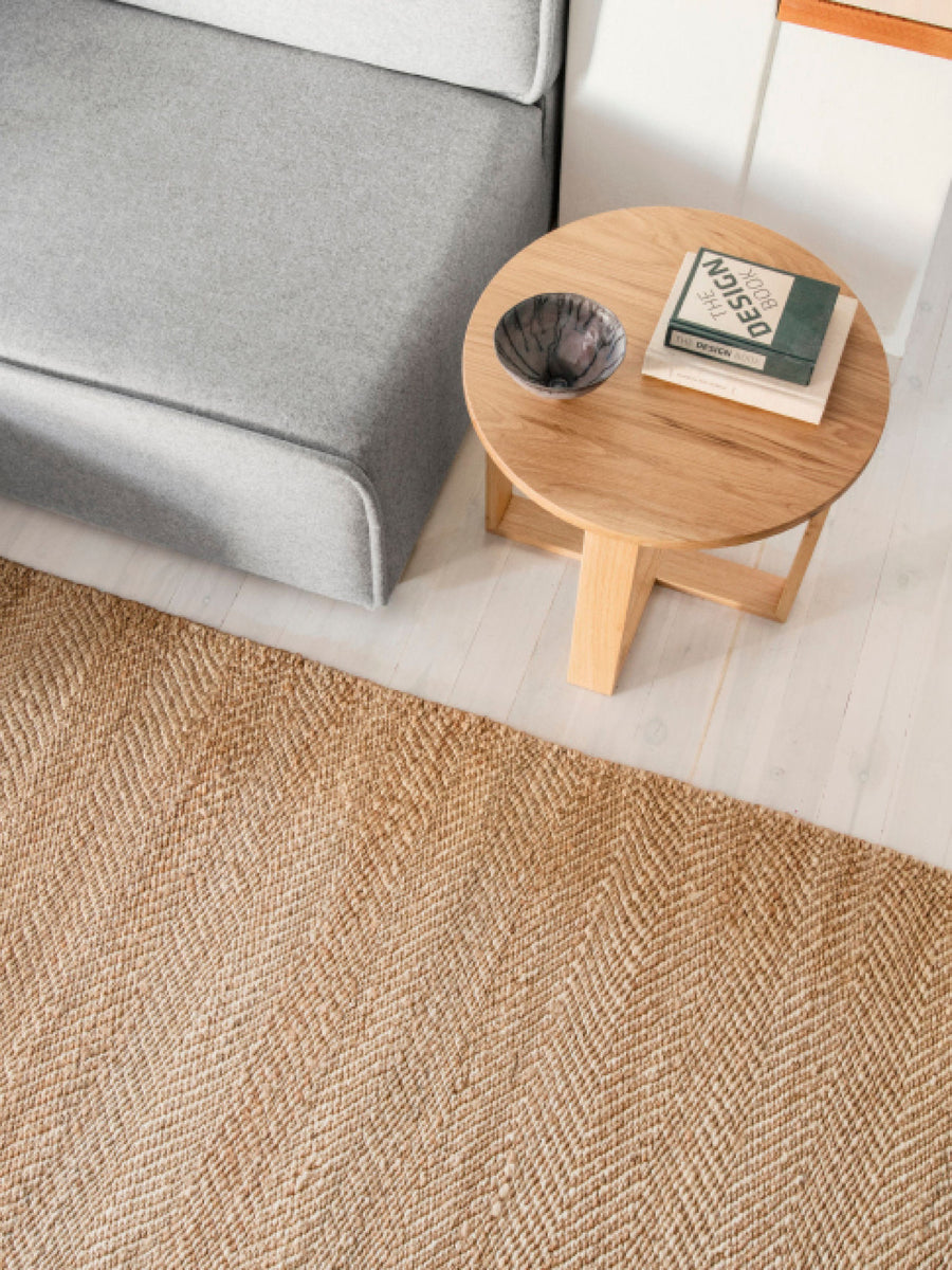 Sobu Oakland Serengeti Weave natural and ivory chair