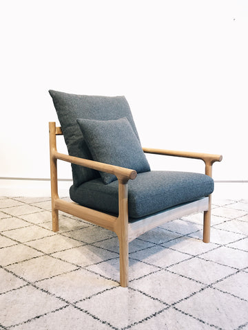 Viking Lounge Chair in Ash