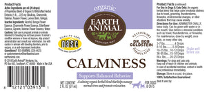 Calmness Organic Herbal Remedy