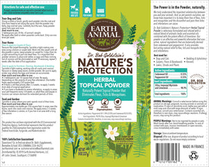 Nature's Protection™ Flea & Tick Herbal Topical Powder