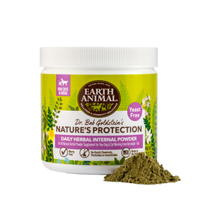 Nature's Protection™ Flea & Tick Daily Herbal Internal Powder - Yeast Free