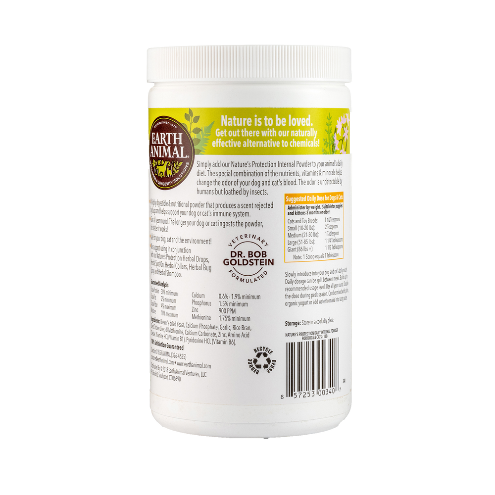 Nature's Protection™ Flea & Tick Daily Internal Powder