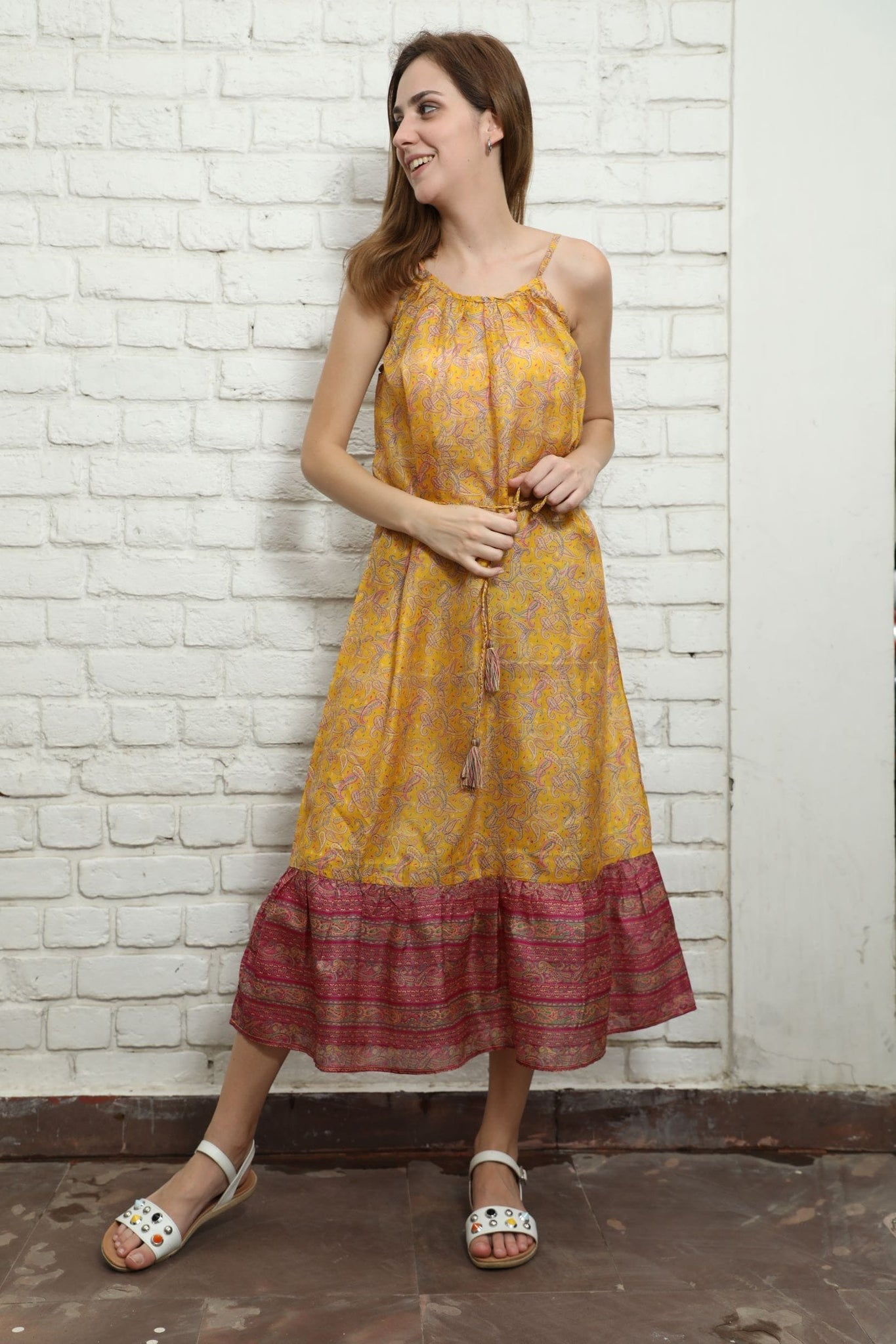 Recycled Silk Dress