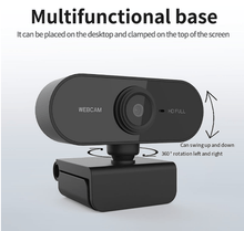 Load image into Gallery viewer, 1080p HD Webcam with microphone Webcam - Rotatable Cameras