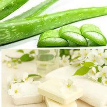 Load image into Gallery viewer, 100% Natural Organic Handmade Soap Aloe Vera Jasmine