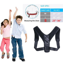Load image into Gallery viewer, Back Support Adjustable Posture Corrector Belt