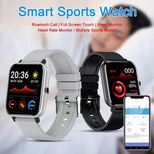 Load image into Gallery viewer, 2021 New Smart Watch for Men Women with Heart Rate Monitor, Blood Oxygen Monitor, Bluetooth