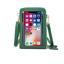 Load image into Gallery viewer, Mini Phone Case Crossbody Shoulder Purse Bags Screen Touchable, Multi-functional